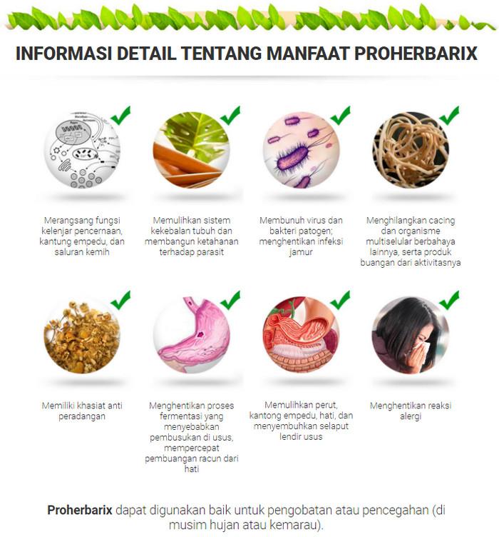 Proherbarix Indonesia, harga, komposisi, apa itu, cara ...