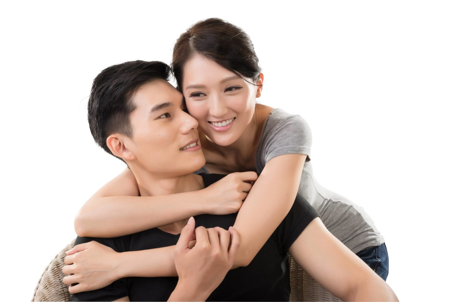Shaved Asian Teen Couple