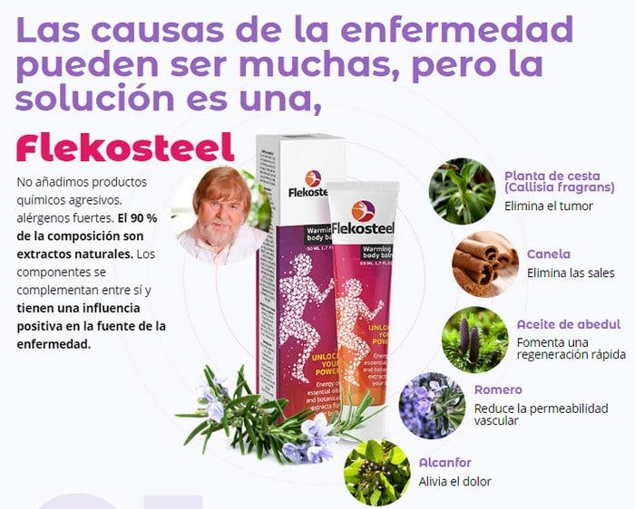 Flekosteel México precio, testimonios, instrucciones de..