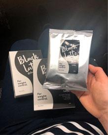 black latte price